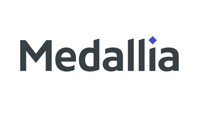 Red Box partner Medallia logo